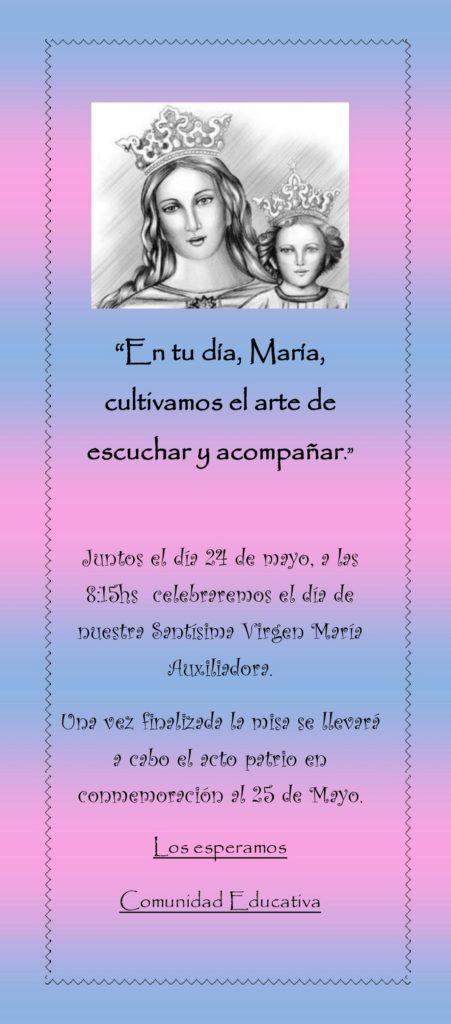 Celebracion Maria Auxiliadora
