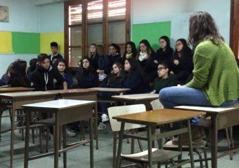 Nivel secundario: JORNADAS DE EDUCACIÓN SEXUAL INTEGRAL