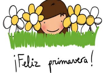 Feliz día de la primavera!
