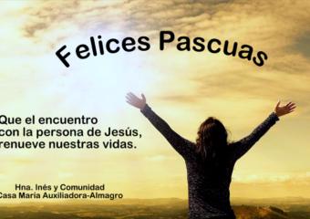 Saludo Pascual de la Comunidad