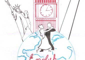 NIVEL SECUNDARIO: Diseño del logo del English Day