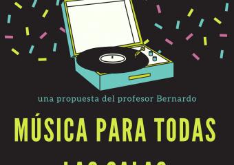 nivel inicial: Una propuesta de música para todas las salas del profesor Bernardo