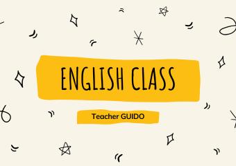 nivel inicial: encuentro virtual de inglés con el profesor Guido sala de 3 ambos turnos