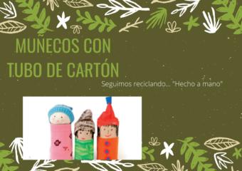 NIVEL INICIAL:MUÑECOS DE CARTÓN
