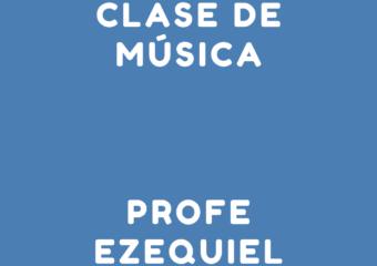 nivel inicial: encuentro virtual de educación musical, profesor Ezequiel sala de 3 t.m.