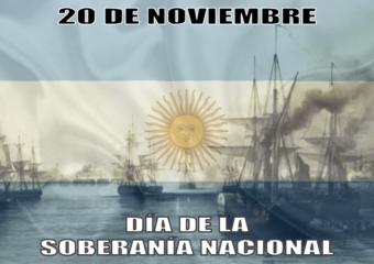 nivel inicial: 20 de noviembre, Día de la Soberanía Nacional