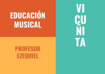 nivel inicial: Propuesta de educación musical, profesor Ezequiel