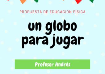 nivel inicial: Propuesta de educación física, profesor Andrés