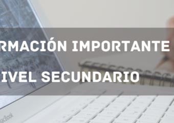 INFORMACIÓN IMPORTANTE: MESAS DE EXÁMENES PARA COMPLETAR ESTUDIOS