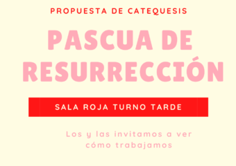 Nivel Inicial: Pascua de Resurrección-Sala Roja Turno Tarde
