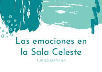 Nivel Inicial: Trabajamos las emociones en Sala Celeste Turno Mañana